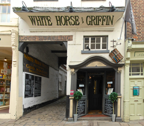 Whitby restaurants White Horse & Griffin